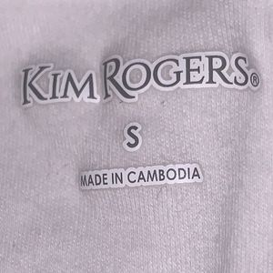Kim Rogers Tops - Kim Rogers Sleeveless White Top